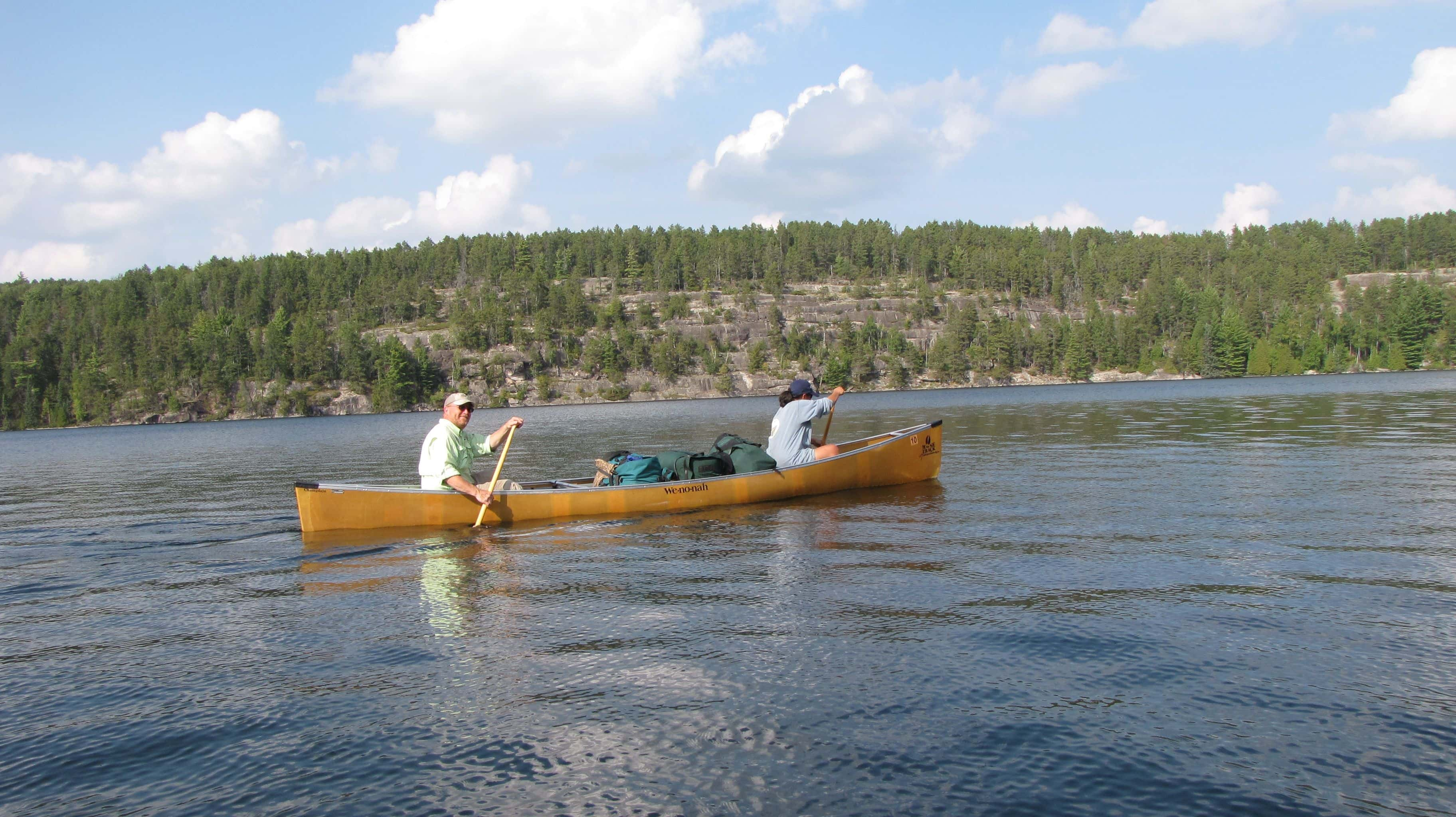 Camping and Canoeing Equipment Rental
