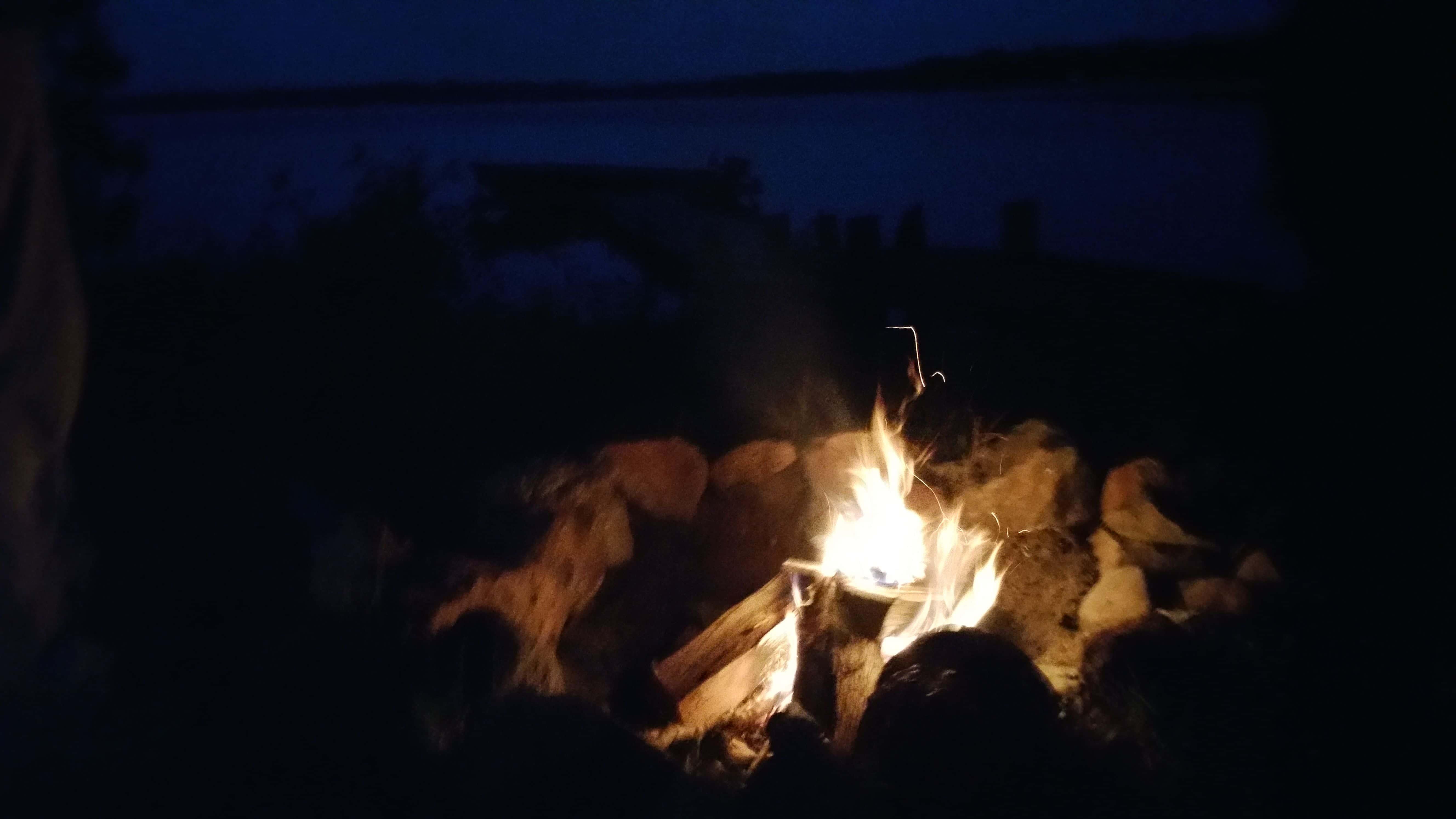 Cabin Firepit Ely MN