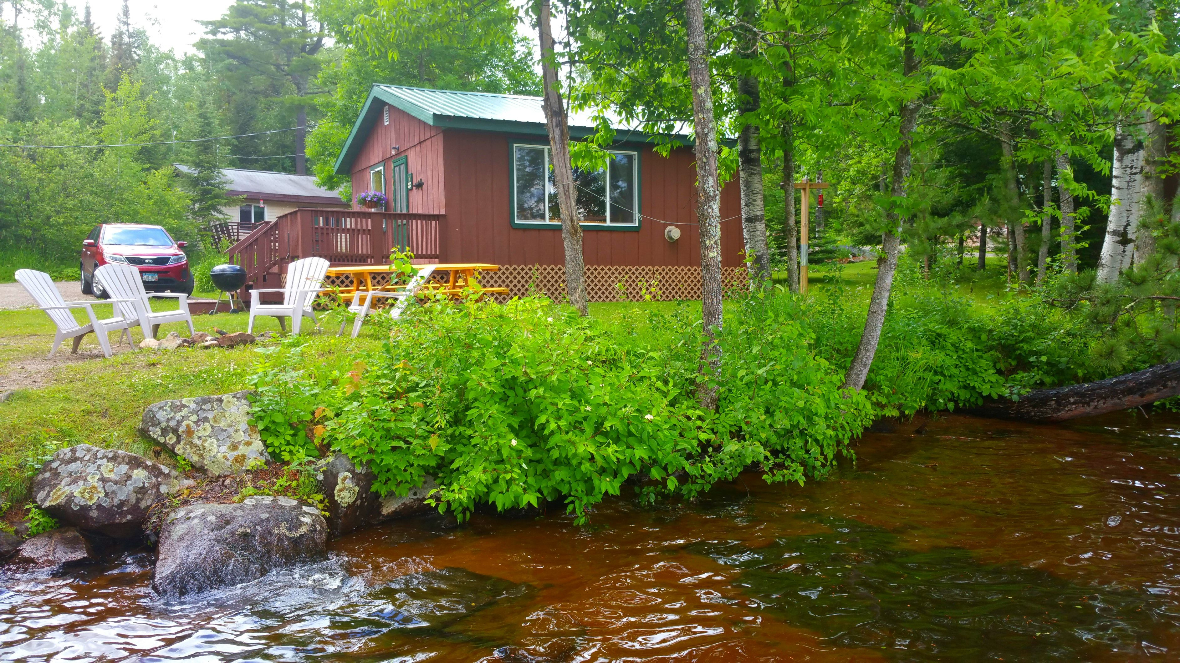Boundary waters cabin mn moose track adventures for Rent fishing gear near me