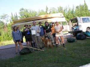 Youth Canoe Trips Ely MN