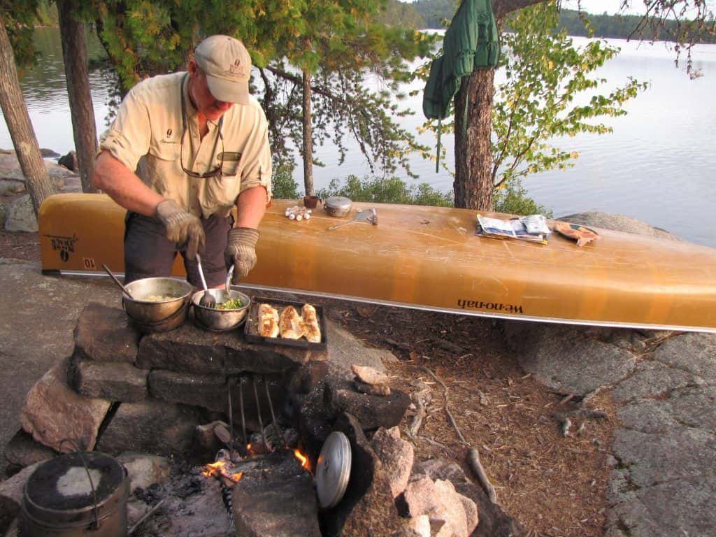 Canoe and Camping Vacation