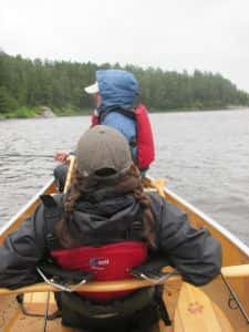 guided & outfitted canoe/camping trips