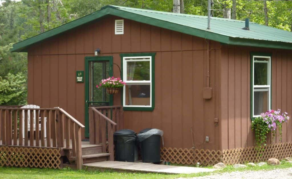 Bear Paw Cabin On Ely Mn Resort Cabin Rentals Ely Minnesota
