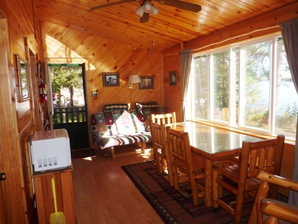 Cozy cabin stay ely minnesota resort moose track for Cozy cabins rentals