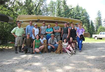 Guided Boundary Waters Canoe Trip